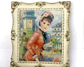 Vintage Turner Wall Art Textured Print by Frederic John Lloyd Strevens
