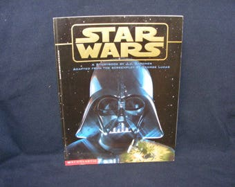 Star Wars Book, Storybook, 1997. Science Fiction Book, Science Fiction, Sci Fi