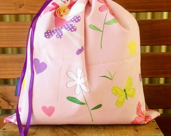Kids Library Bag - Fairy Princess.