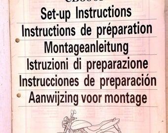Honda Motorcycle Set-Up Instruction Manual: CB600F, 99MBZ01, 1998 (4972)