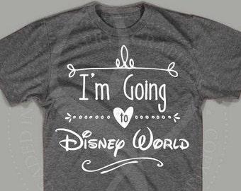 I'm going to Disney World Girl's / Women's Shirt