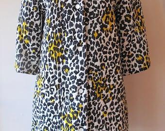 1960s Leopard Jacket