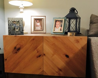 The Hunter - Modern Media Sideboard Credenza - Media Console Cabinet - TV Stand/Entertainment Center