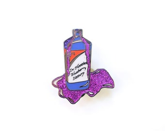 Dr. Floozies Blueberry Syrup Hat Pin V2