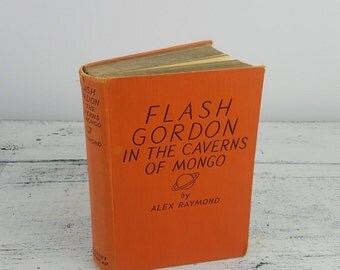 First Edition, Flash Gordon in the Caverns of Mongo, children's books, collectibles, 1936