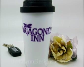 Dragonfly Inn Inspired Big Travel Mug - 16 oz.