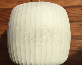 "George Nelson ""Marshmallow"" Hanging Pendant Light"