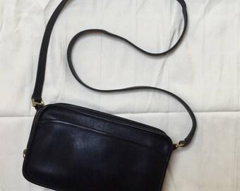 Coach black leather purse,USA,9974,bag,shoulder bag