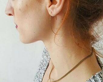 Aztec Earring Wires, Brass Earring Wires, Boho Chic, Etsy Gifts, Fesival Earrings, Hook Earrings