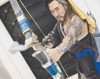 Zevran face tattoos for Hanzo tattoo sleeve