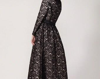 Classique handkerchief maxi dress