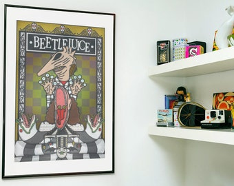 Tim Burton's Beetlejuice Poster Print
