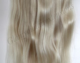 "20"" 160g SECRET-HALO-Magic wire Remy Human Hair extensions!! Thick!! Grade 4A woww"