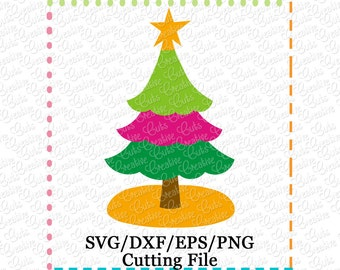 EXCLUSIVE Christmas Tree SVG Cutting File, Christmas Tree cut file, Christmas tree cutting file, LIMITED commercial use