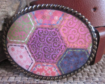 Bohemian belt buckle boho buckle peace sign belt buckle flowers rustic earth tones accessories resin belt buckle country chic belt buckle