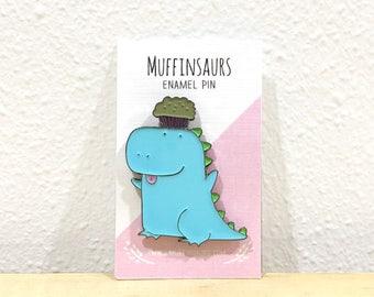 Muffinsaurs Enamel Pin
