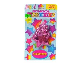 90s Lisa Frank Pencil Sharpener Bear Star Vintage Metallic Pink Purple  Kitsch Desk Accessories Office Decor