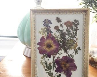 Custom Pressed Flowers