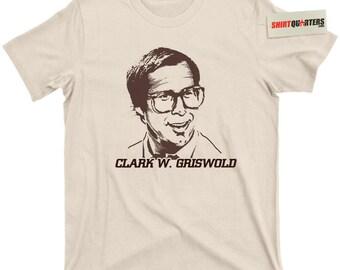 Clark W Griswold nationale schotschriften Christmas Vegas Europese vakantie Wagon Queen familie Rob1962.1 Kabata World Chevy Chase film Tee T Shirt