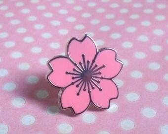 Pretty Sakura blossom pin