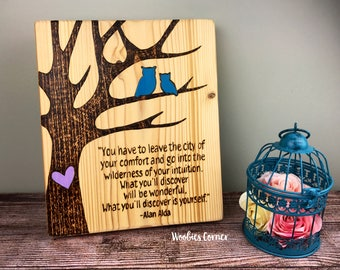 Owl decor, Custom wooden house signs, Personalized quote, Custom quote sign, Custom wood sign, Personalized sign, Rustic home decor