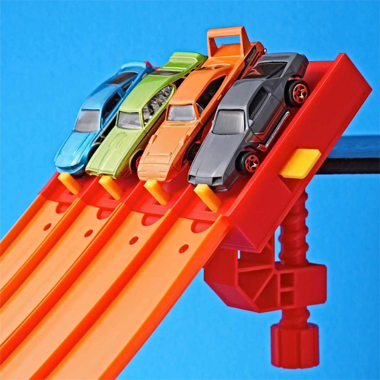 Car Wont Start When It Gets Hot Page1: 4-Lane Start Gate W/Clamp For Hot Wheels Toy Car Track