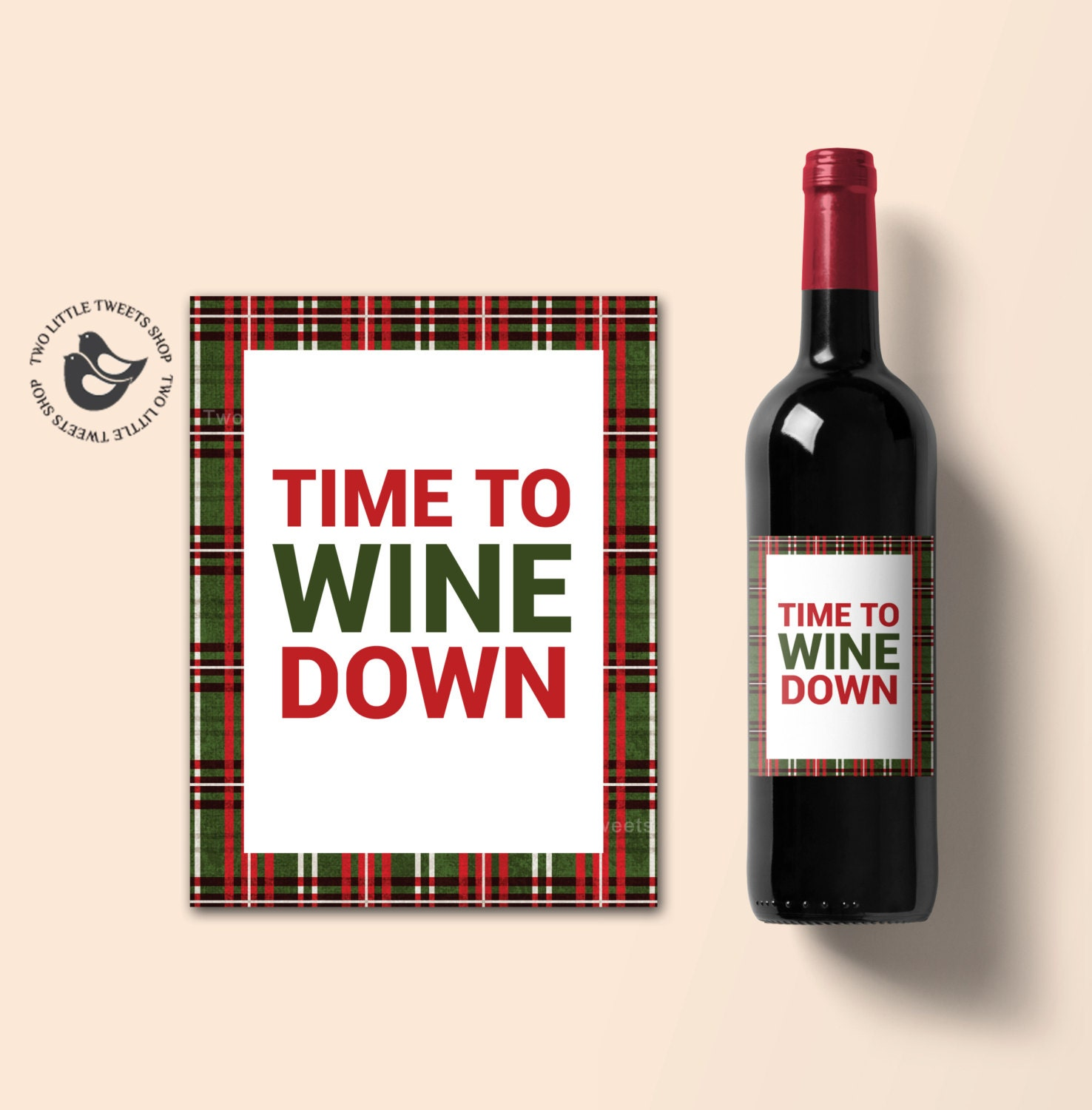 Wine is not the answer Funny Printable wine by SmileUpDesigns |Weird Wine Labels