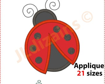 Ladybug Applique design. Ladybug embroidery design. Embroidery design ladybug. Ladybug applique. Ladybug. Machine embroidery design.