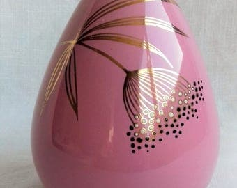 Pink Vintage Vase Old Foley Ballerina by James Kent Ltd Staffordshire