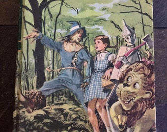 The Wizard of Oz by L. Frank Baum, 1956, Vintage Book