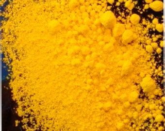 Bath Bomb Dye, Food Dye, Bath Bomb Colorant, Yellow 5 Aluminum  Lake, Yellow 5 Lake, Food Drug and Cosmetic Dye, 35 - 42 Percent Dye