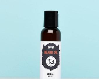 Vanilla Musk Beard Oil