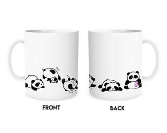 Panda Mug, Cute Gift For Friend, Panda, Panda Bear Gift, Cute Coffee Mug, Pandas, Funny Panda Gift, Cute Gift, Panda Bear, Gift for Friend,
