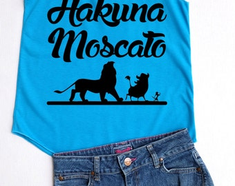 Flock Hakuna Moscato - Disney shirt,Disney tank top,Princess shirt,Princess tank top,Hakuna moscato shirt,Hakuna moscato tank top