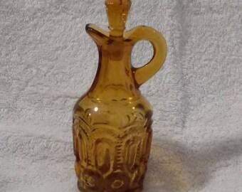 Vintage Amber Cruet