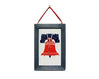 Liberty Bell Picture, Philadelphia Magnet, Cubicle Decor, Thank You Gift, Gift For Him, Gift for Her, Fridge Magnet, Liberty Bell Magnet