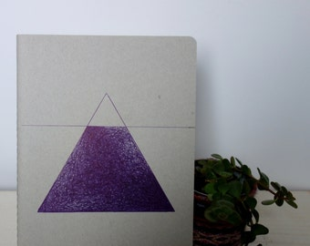 Mountain Notebook / Illustration / Copybook / Journal / Fieldnotes / Stationery