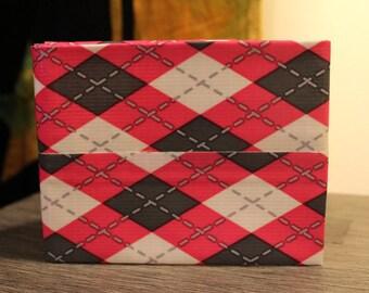 Preppy Plaid Duct Tape Wallet