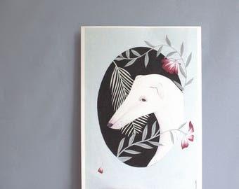 Whippet (artprint)