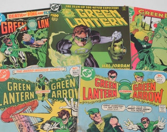 20 Green Lantern Comic Book Lot! Comics Hal Jordan Kyle Rainer Green Arrow Oliver Queen Parallax Emerald Night 1990s Comic Books
