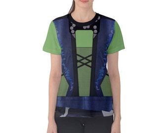 Women's Gamora Guardians of the Galaxy Inspired Shirt