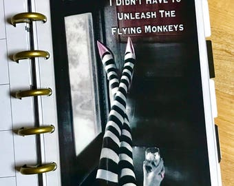 DASHBOARD Flying Monkeys for use with the MINI Happy Planner