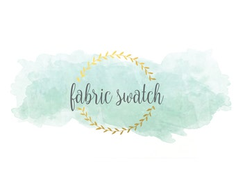 Fabric Swatch | Choose ANY Print in the Shop | Fabric Sample