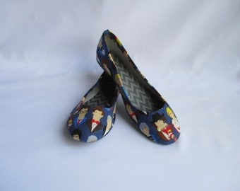 Doctor Who Many Faces of the Doctor Shoes - Choose Your Shoe Style- Wedding- Geek- Bride- Bridal Shoes- Prom- Graduation- Gift- Custom Shoes