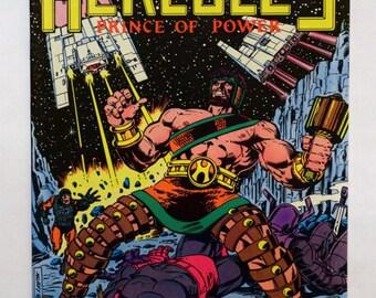 Hercules Comic Books, Marvel Comics Hercules, Vol.1 #1-4 Complete Set (VF/NM) 1982, B2