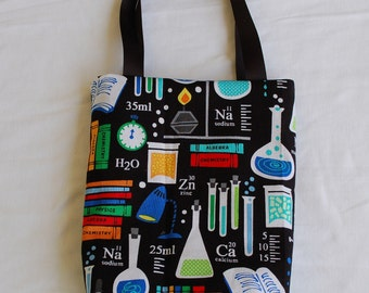 Fabric Gift Bag- Chemistry Lab