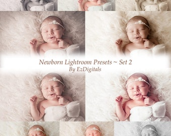 10 Newborn Baby Lightroom presets, Baby presets, Newborn presets, Portrait presets, Wedding Presets, Photography Presets
