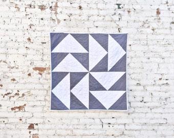 Cloud Nine Quilt | Modern Baby Quilt