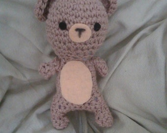 Amigurumi bear Brown
