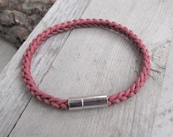 Mens Bracelet Mens Braided Cotton Bracelet  Mens Cotton Bracelet Men's Vegan Bracelet Vegan Gift Mens Rope Bracelet For Him